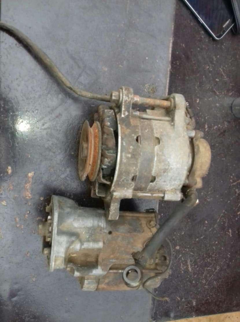 Motor de arranque y alternador para Toyota C90 - 0