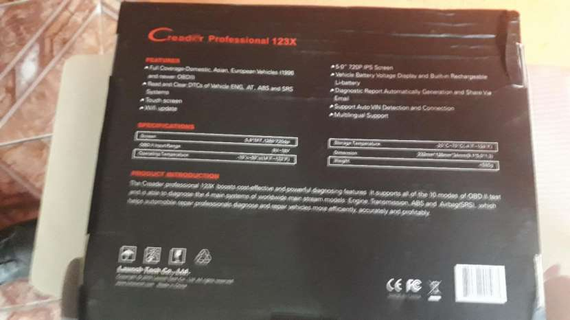 Escáner Launch Creader Profesional 123X - 5