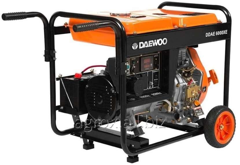 Generador electrico daewoo ddae-6000 220 v. Diesel - 0