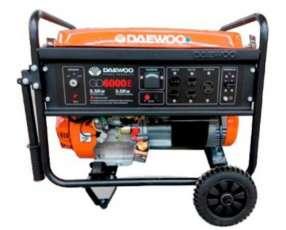 Generador eléctrico naftero 6,2 Kva