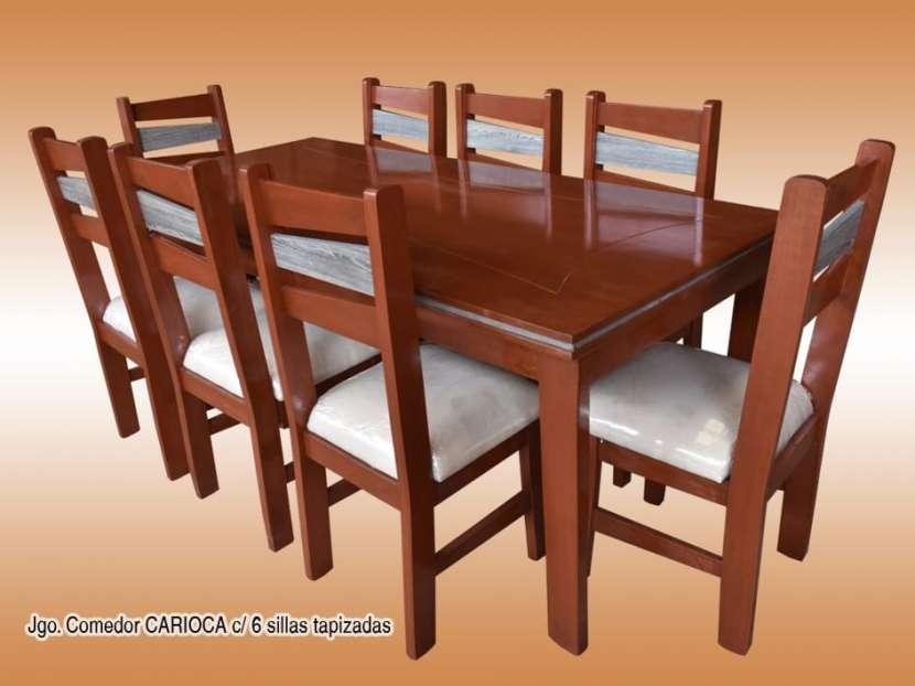 Comedor 6 sillas Carioca - 0