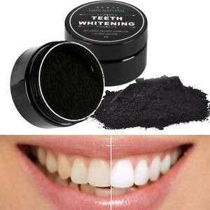 Blanqueador Dental en Polvo de Carbón Activado - 0