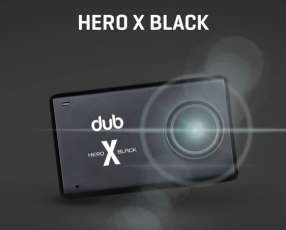 Cámara 4K Hero X Black Sumergible