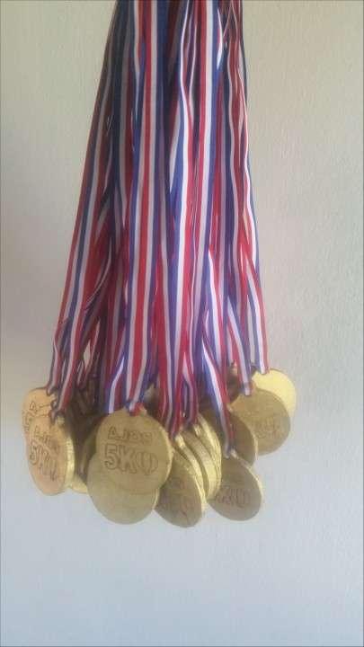Medallas de Madera para actividades deportivas - 0