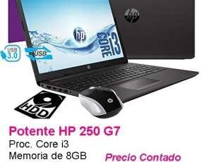 Notebook HP G7 250 Core i3/8GB/1000GB