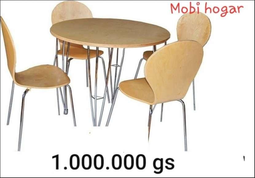 Mesas redondas y cuadradas - 0