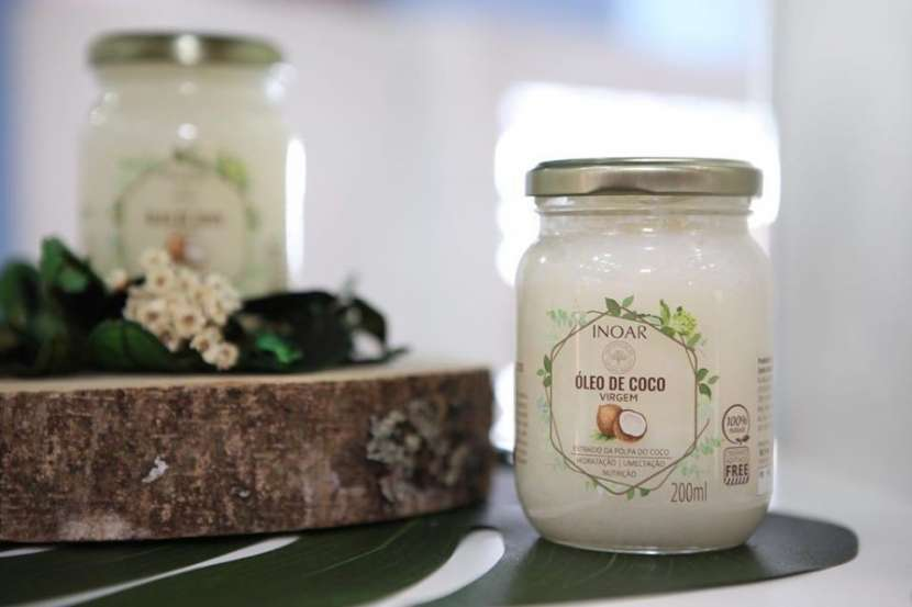Aceite de coco para el cabello - 1