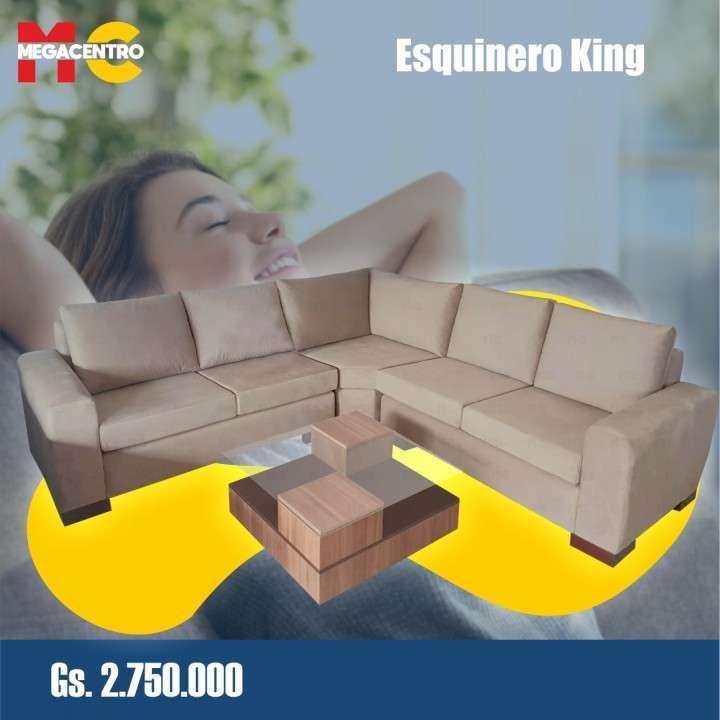 Sofá esquinero king - 3