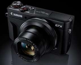 Cámara Canon PowerShot G7 X Mark II