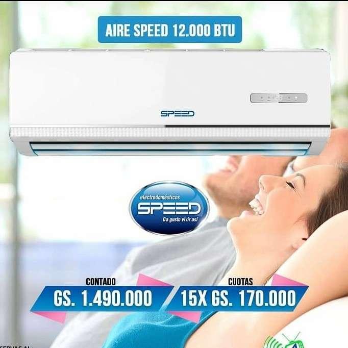 Aire acondicionado Speed de 12.000 btu - 0