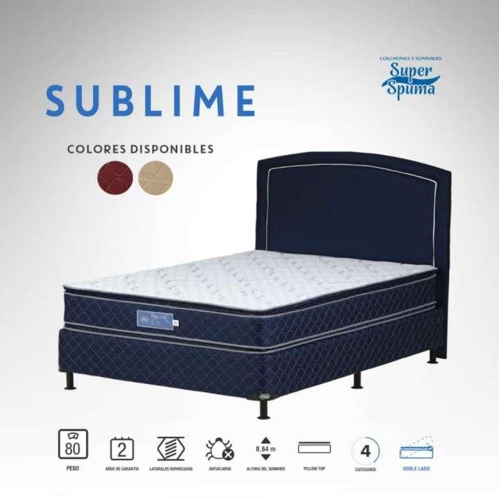 Somier Súper SPUMA - 1