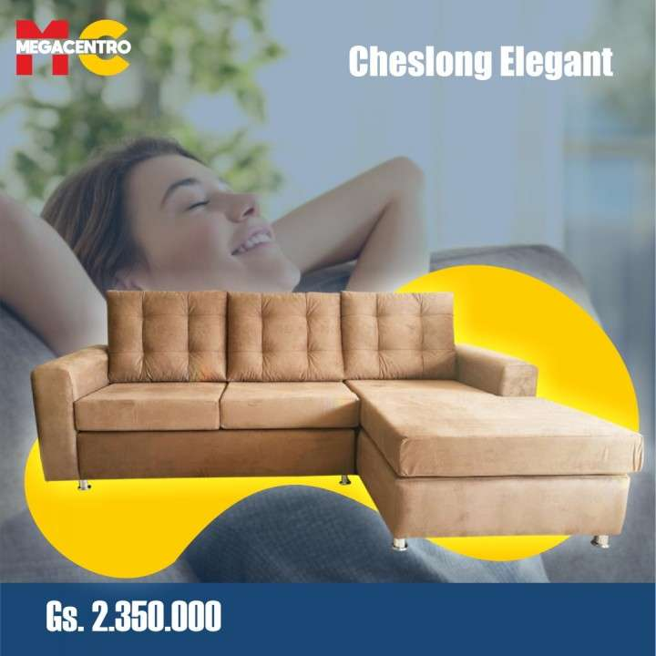 Sofá cheslong elegant - 4