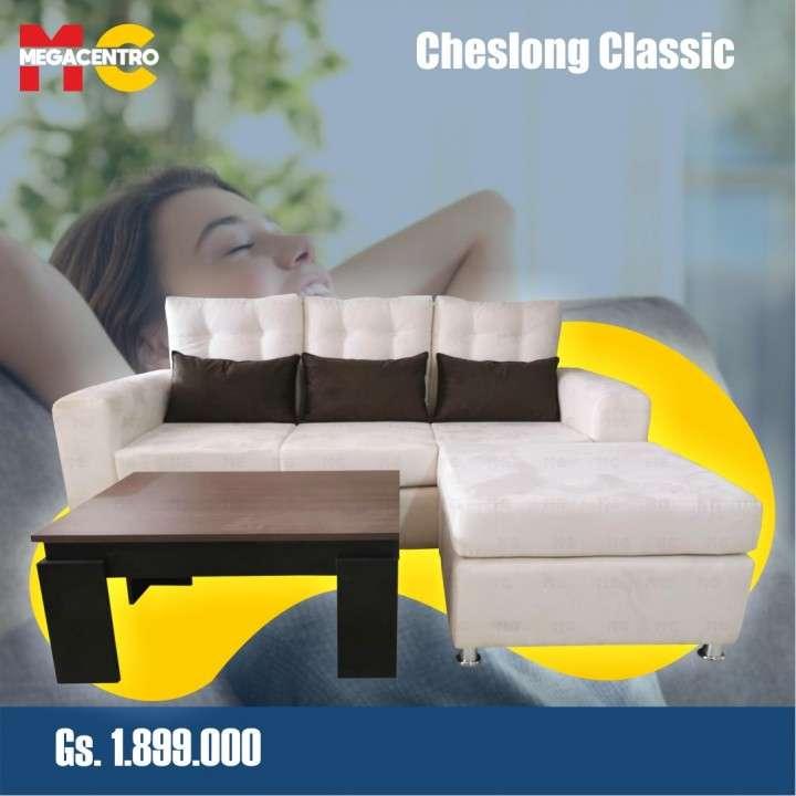 Sofá cheslong classic - 4