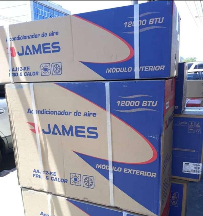 Aire acondicionado James 12.000 btu gas ecológico - 0