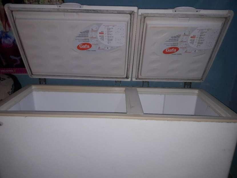 Congelador de 2 puertas y visicooler Fama - 0