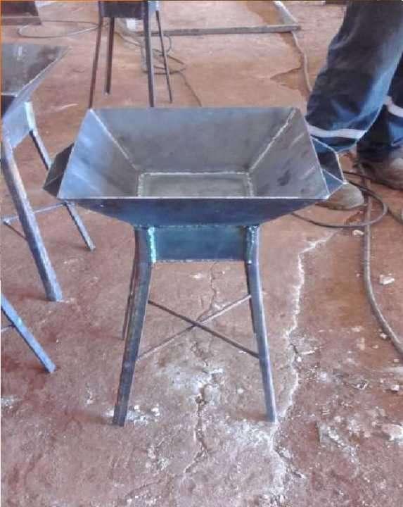 Brasero metal reforzado - 0