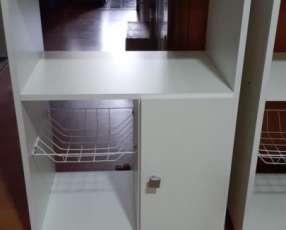 Balcón para horno y microondas