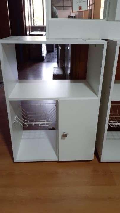 Balcón para horno y microondas - 0
