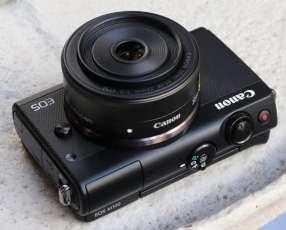 Cinematográfica con la Cámara Canon EOS M100 15-45 M