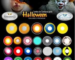 Lentes de Contacto para Halloween