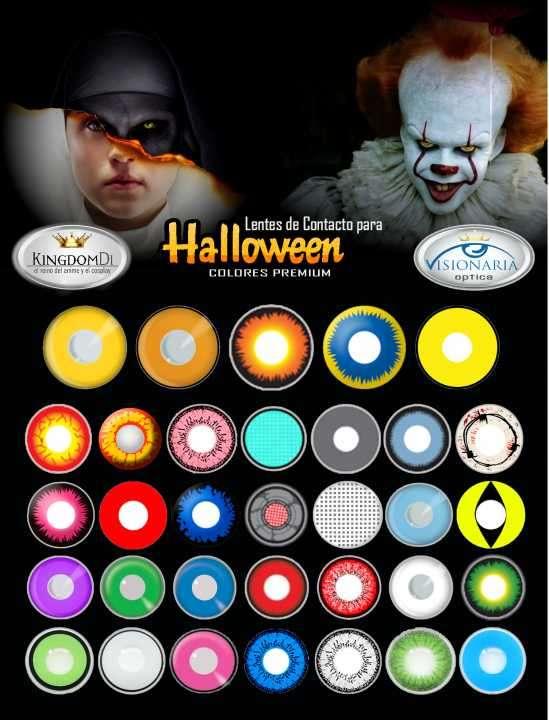 Lentes de Contacto para Halloween - 0