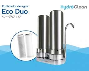 Purificador para agua eco duo inox