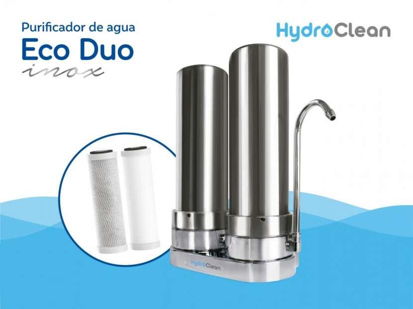 Purificador para agua eco duo inox - 0