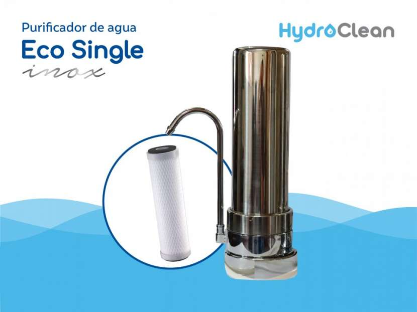 Purificador de agua eco single inox - 0