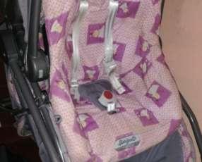 Carrito y Baby seat Burigotto