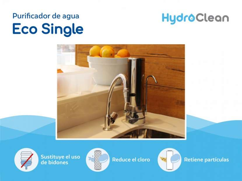 Purificador de agua eco single inox - 1