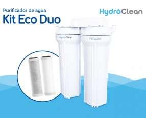 Purificador para agua kit eco duo