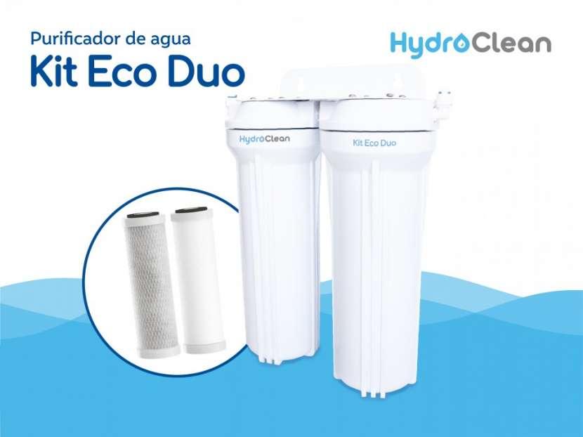 Purificador para agua kit eco duo - 0