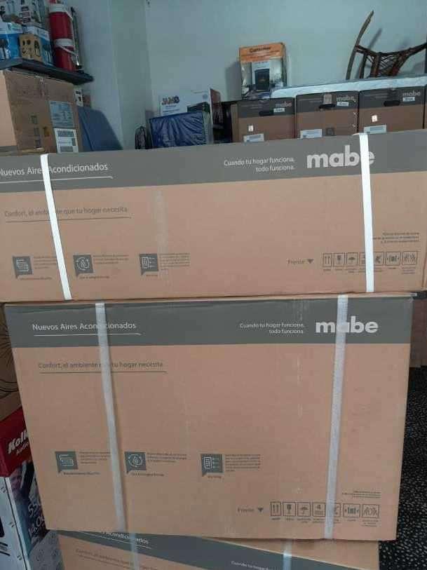 Aire acondicionado Mabe 12.000 BTU gas ecológico - 0
