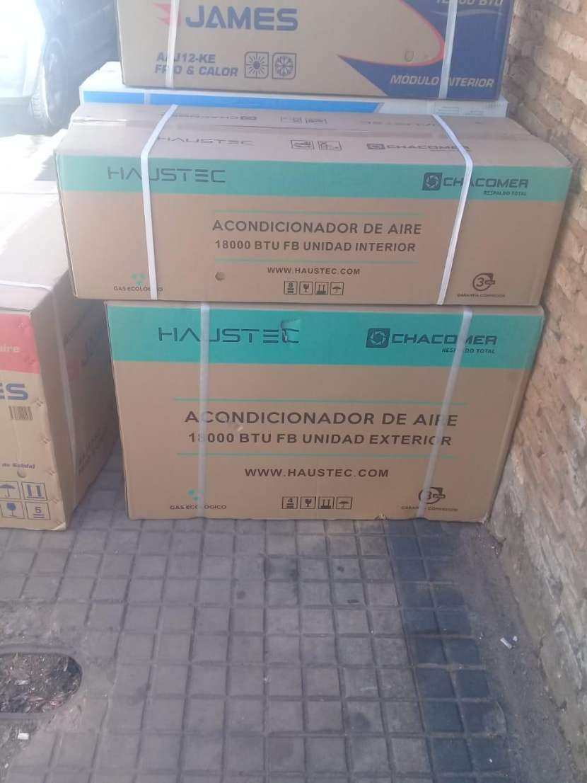 Aire acondicionado haustec 18.000 btu - 0