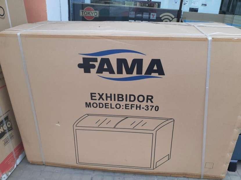 Congelador Fama para helado 370 lts - 0