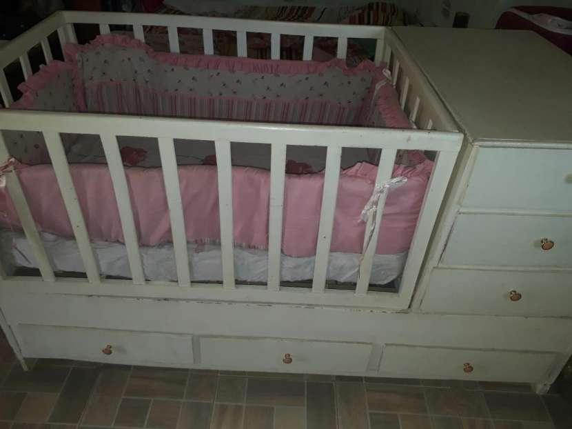 Cuna cama con cómoda - 0