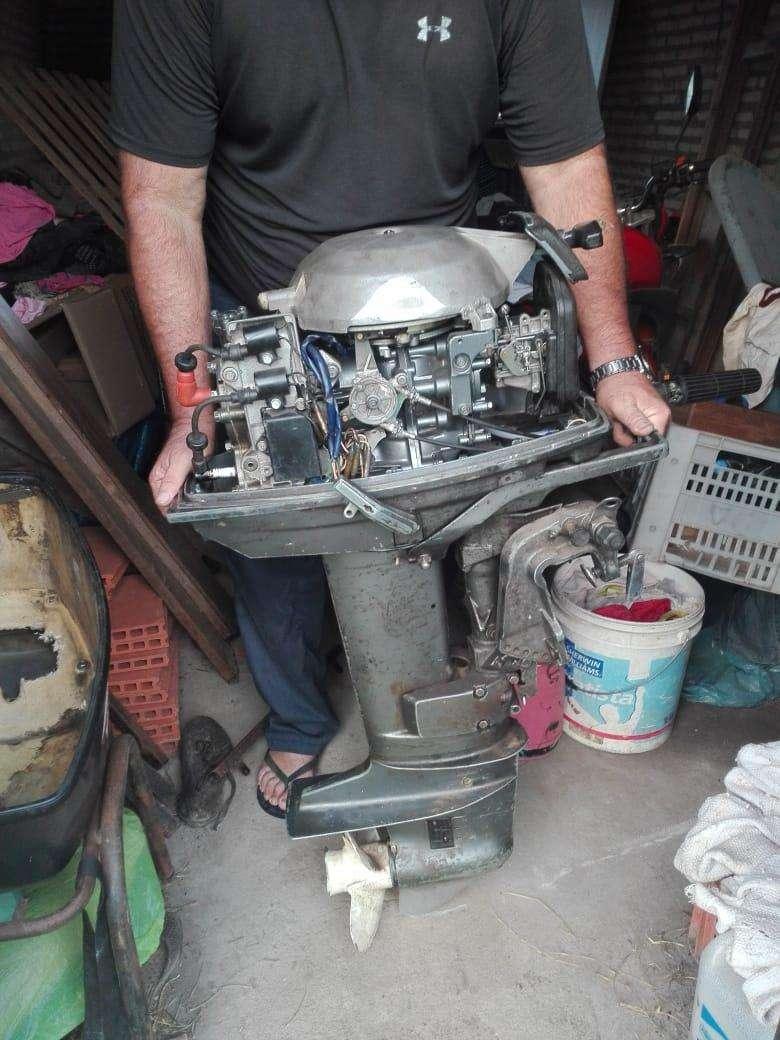 Motor fuera de borda Yamaha de 25 HP - 1