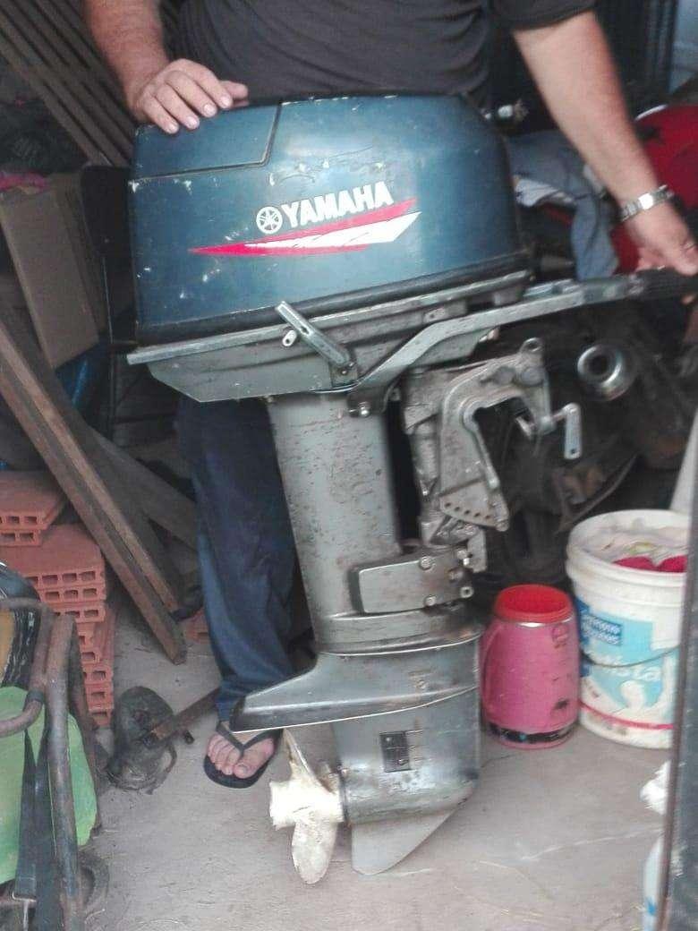 Motor fuera de borda Yamaha de 25 HP - 2