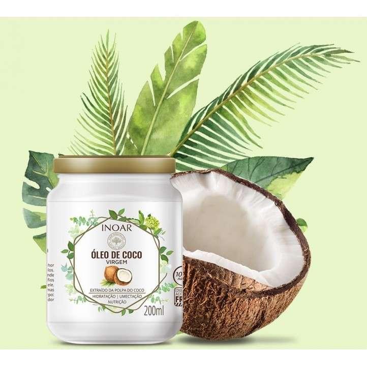 Aceite de coco para el cabello - 0