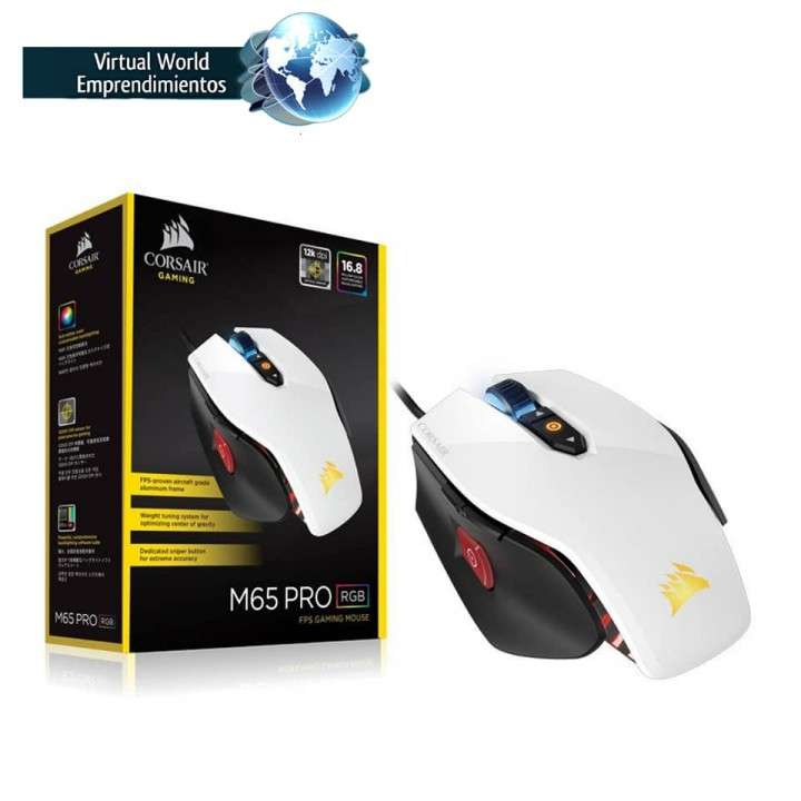 Mouse Gamer FPS M65 PRO RGB - 0