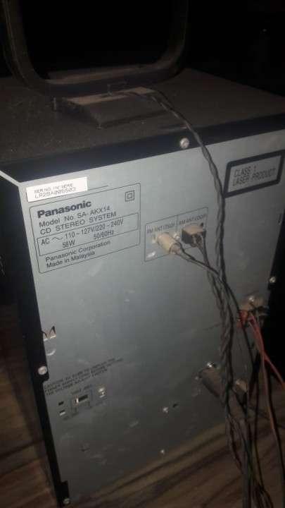 Equipo de Sonido Panasonic - 2