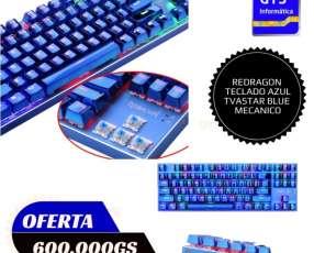 Teclados de sensación mecánica y mecánicos gamer Redragon