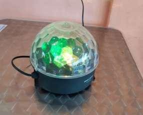 Lámpara de colores rotativa Mega Star