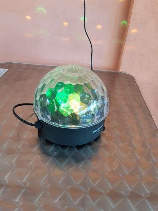 Lámpara de colores rotativa Mega Star - 0