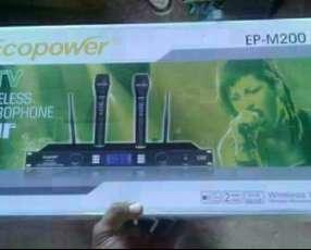 Micrófono inalámbrico Ecopower