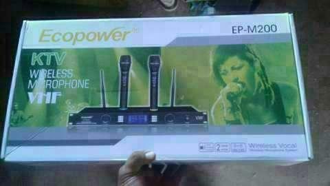 Micrófono inalámbrico Ecopower - 0
