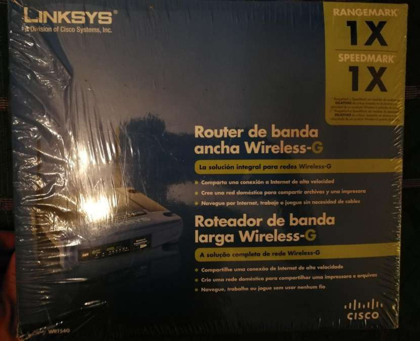 Equipo de Wi Fi Wirreless Linmsys - 0