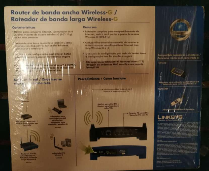 Equipo de Wi Fi Wirreless Linmsys - 1