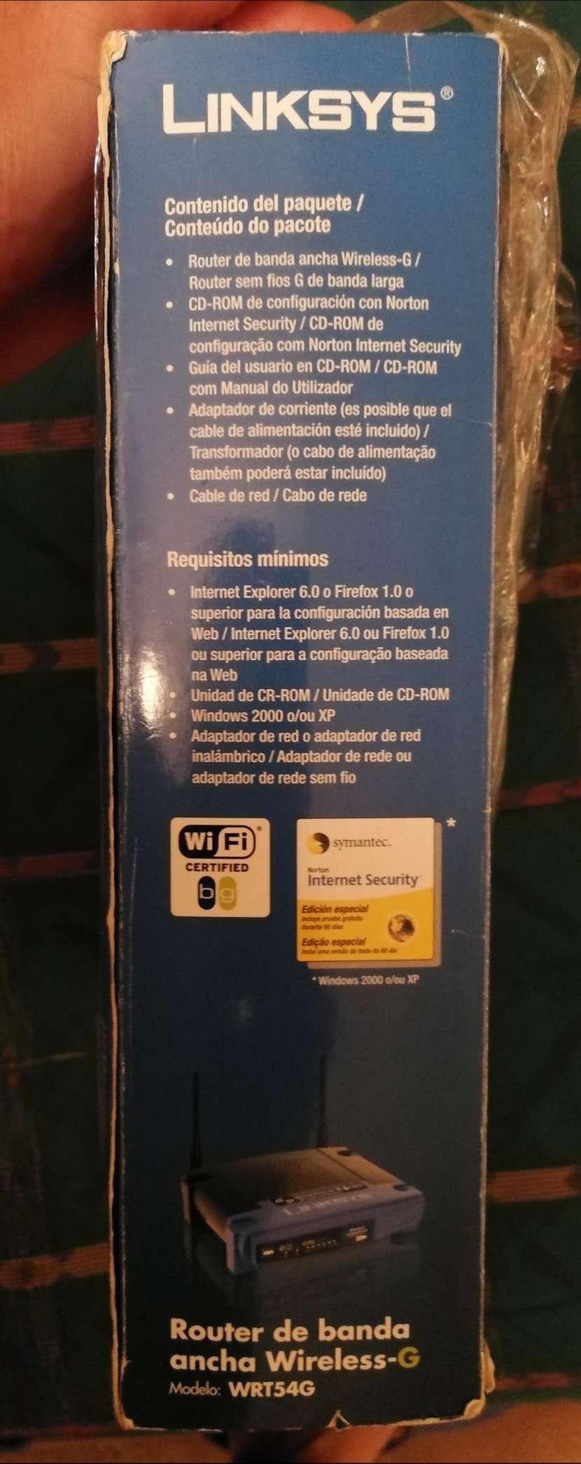 Equipo de Wi Fi Wirreless Linmsys - 4
