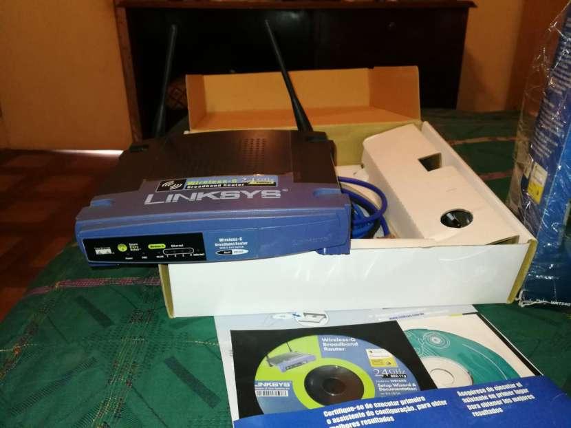Equipo de Wi Fi Wirreless Linmsys - 7